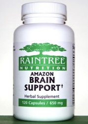Amazon Brain Support  is traditionally used in South America to support memory and brain function, purported to help with memory loss,dementia, and alzheimers
