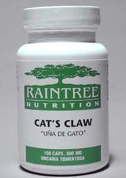 Cats Claw Capsules are traditionally used as an immune stimulant and as adjunctive therapy for cancer to reduuce the side effectsof chemotherapy and protect cells, and also for estrogen positive breast cancer