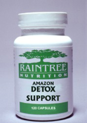 Amazon Detox Support Capsules are traditionally used in South America for detoxifying the blood filtering organs