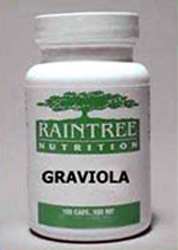Graviola Capsules   (traditional use - All Types of Cancer)
