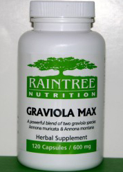 Graviola Max   (traditional use - Cancer - All Types) DISCONTINUED